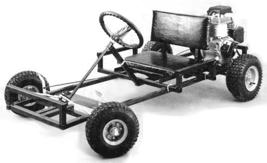 Wooden Go-Kart Plans :: How to build a wooden